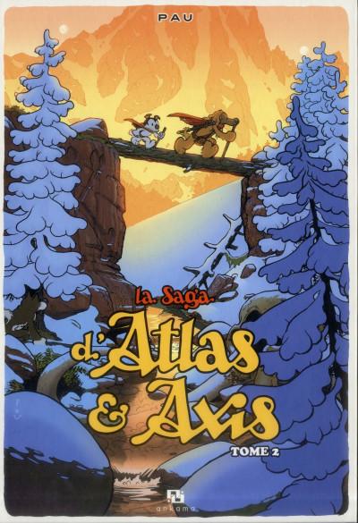 Couverture La saga d'Atlas & Axis tome 2