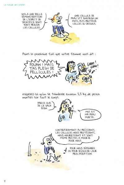 Page 4 Tu mourras moins bête tome 2