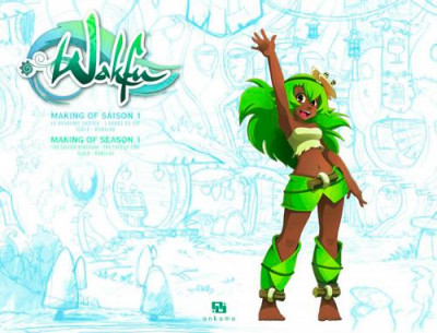 Couverture wakfu - making of saison 1 tome 8