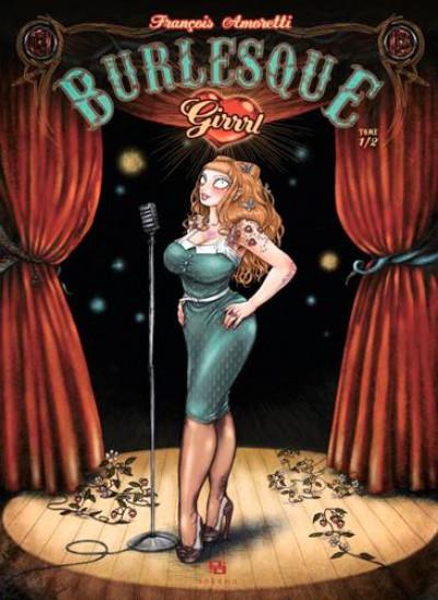 Couverture burlesque girrrl tome 1