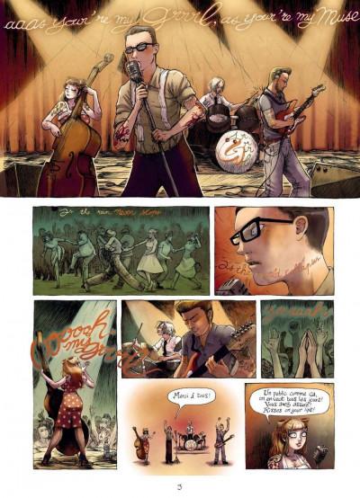 Page 1 burlesque girrrl tome 1