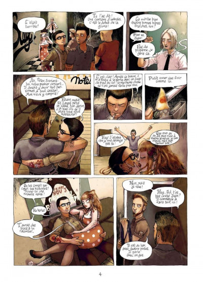 Page 2 burlesque girrrl tome 1