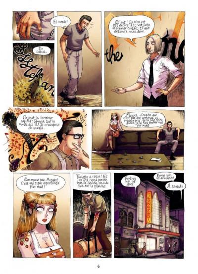Page 4 burlesque girrrl tome 1