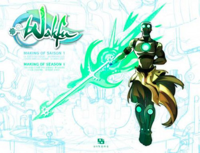 Couverture wakfu - making of saison 1 tome 9