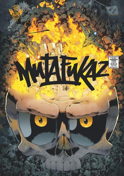 Couverture Mutafukaz tome 4 - dead end