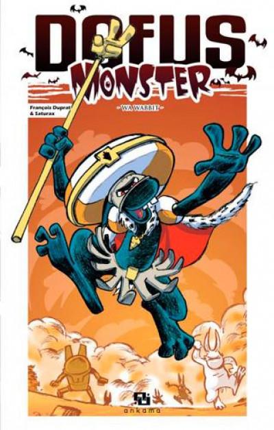 Couverture dofus monster tome 8 - wa wabbit
