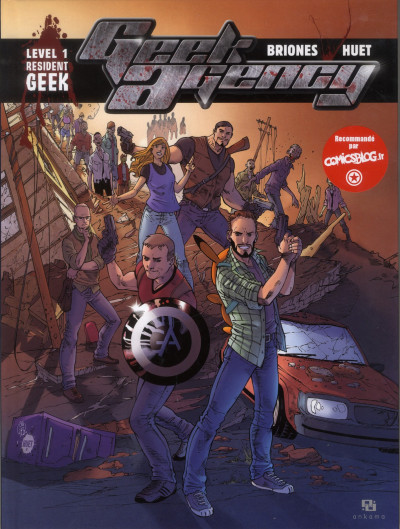 Couverture geek agency tome 1