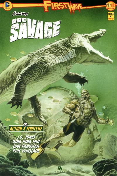 Couverture First wave doc savage tome 3