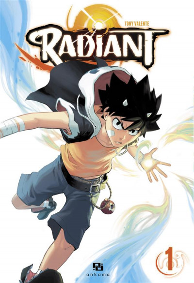Couverture Radiant tome 1
