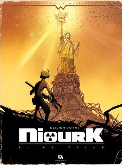 Couverture Niourk tome 2