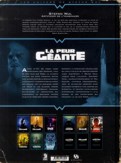 Dos La peur geante tome 1