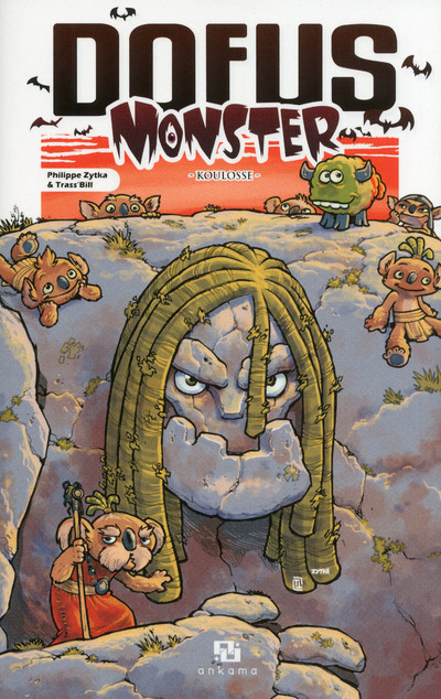 Couverture Dofus monster tome 9 - koulosse