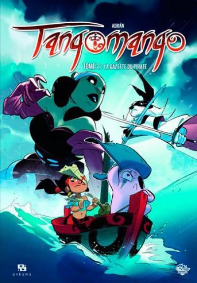 Couverture wakfu heroes Tangomango tome 2 - la gazette du pirate