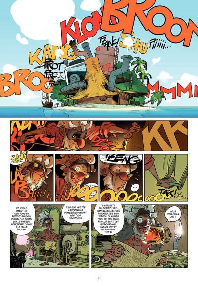 Page 6 wakfu heroes Tangomango tome 2 - la gazette du pirate