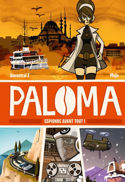 Page 6 Paloma tome 1 - espionne avant tout