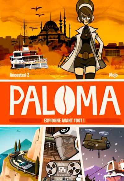 Couverture Paloma tome 1 - espionne avant tout