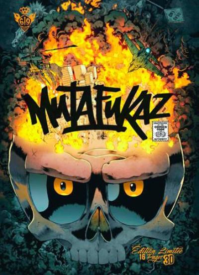 Couverture Mutafukaz tome 4 - DE4D END - édition collector