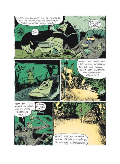 Page 2 Monkey bizness tome 2 - les cacahuètes sont cuites