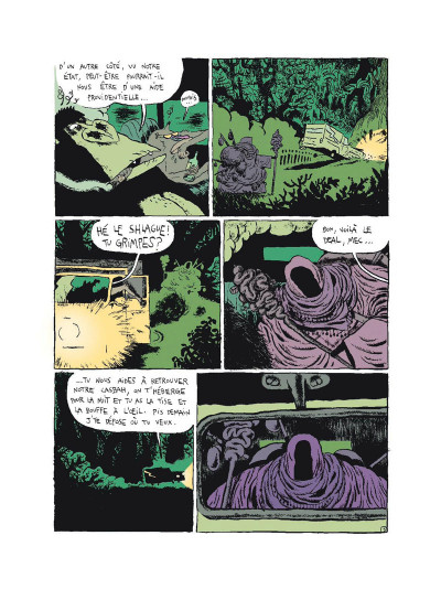Page 3 Monkey bizness tome 2 - les cacahuètes sont cuites
