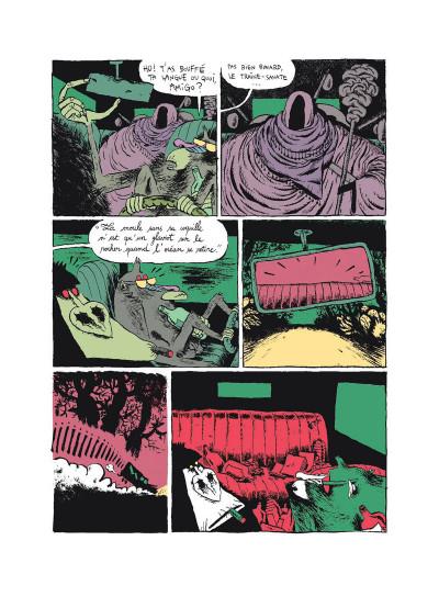 Page 4 Monkey bizness tome 2 - les cacahuètes sont cuites