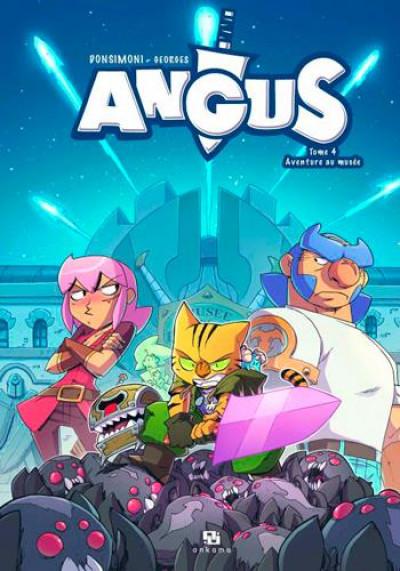 Couverture Angus tome 4 - aventure au musée