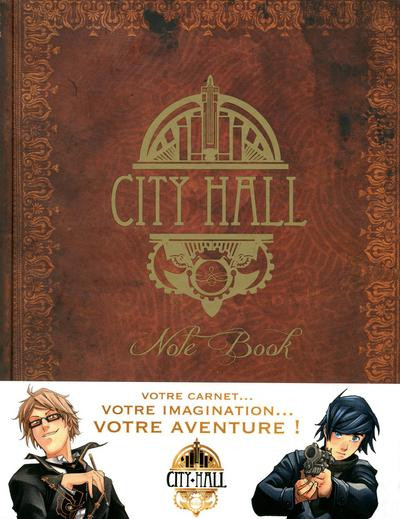Couverture City hall note book