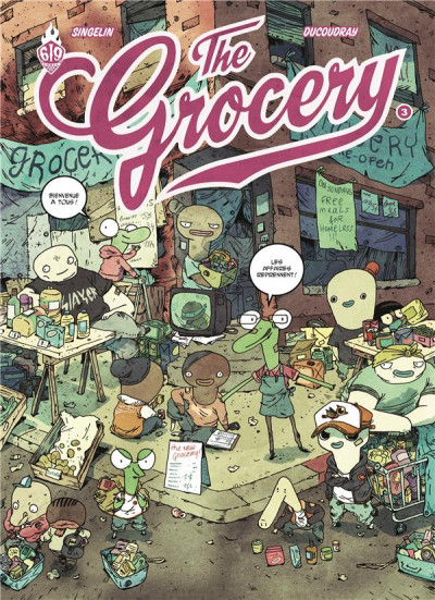 Couverture The grocery tome 3