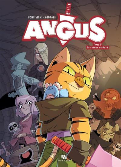 Couverture Angus tome 5 - le retour de Gard