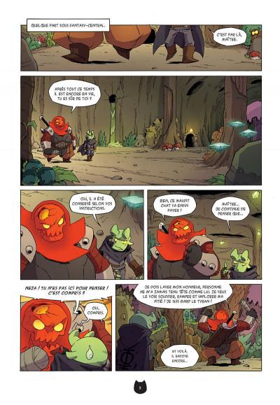 Page 6 Angus tome 5 - le retour de Gard