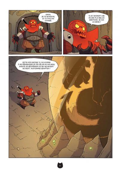 Page 8 Angus tome 5 - le retour de Gard