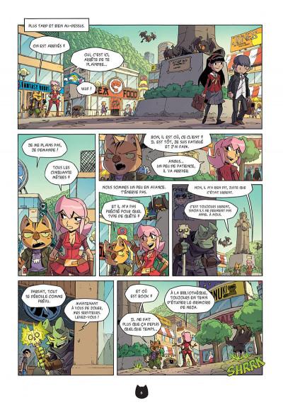 Page 9 Angus tome 5 - le retour de Gard