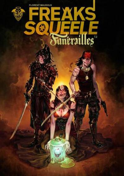 Couverture Freaks' squeele - funérailles tome 2