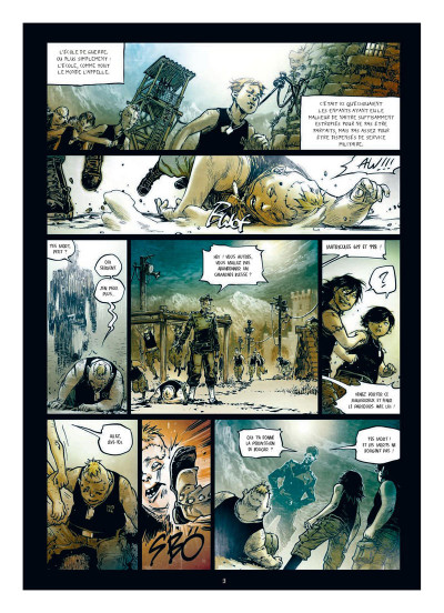 Page 1 Freaks' squeele - funérailles tome 2