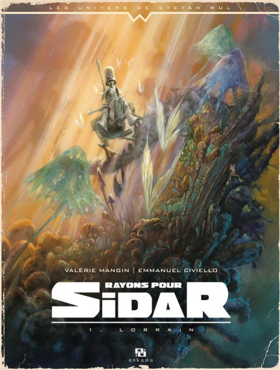 Couverture rayons pour Sidar tome 1 - lorrain