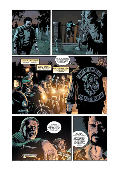 Page 5 Sons of anarchy tome 1