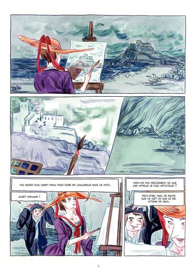 Page 4 Le chevalier d'Éon tome 2
