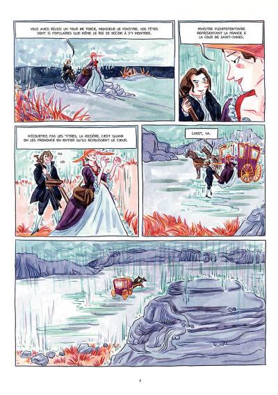 Page 6 Le chevalier d'Éon tome 2