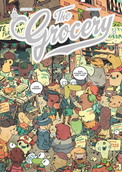 Couverture The grocery tome 4
