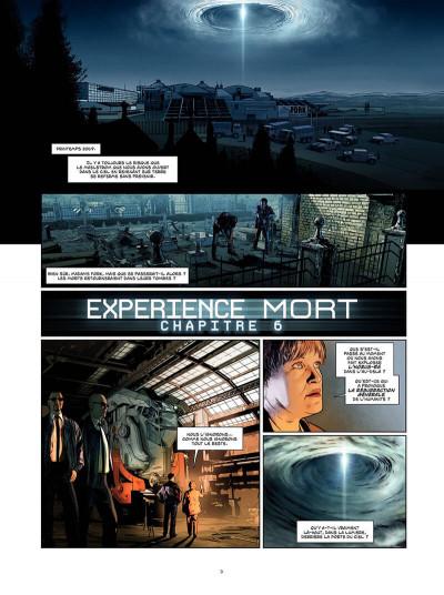 Page 4 Expérience mort tome 3