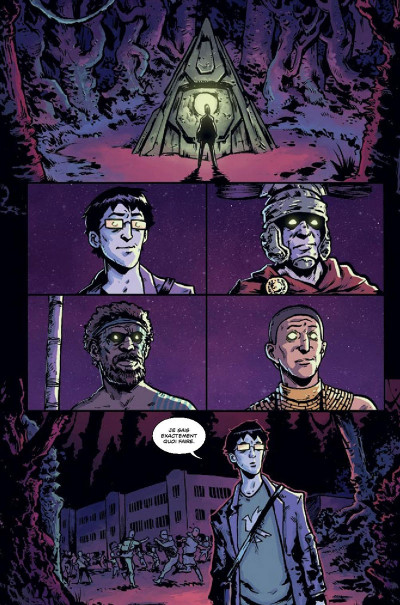 Page 1 The woods tome 1