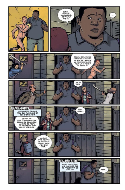 Page 5 The woods tome 1