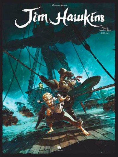 Couverture Jim Hawkins tome 2