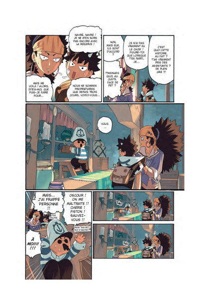 Page 1 Radiant tome 5