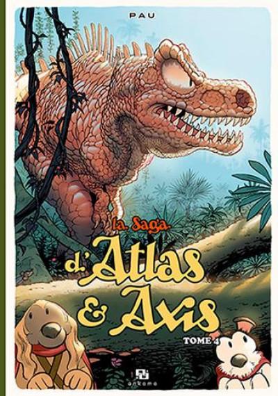 Couverture La saga d'Atlas & Alix tome 4