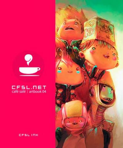 Couverture Cfsl.net tome 4 - café salé artbook