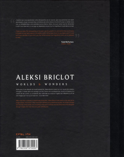 Dos Aleksi Briclot ; worlds & wonders