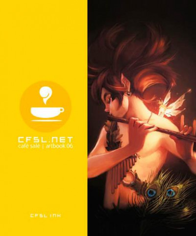 Couverture Cfsl.net tome 6 - café salé artbook