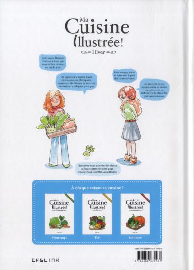 Dos Ma cuisine illustrée - hiver