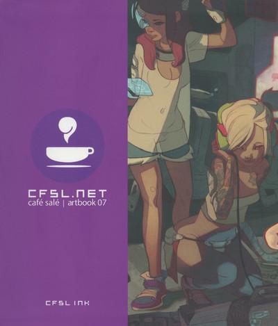 Couverture Cfsl.net tome 7 - café salé artbook