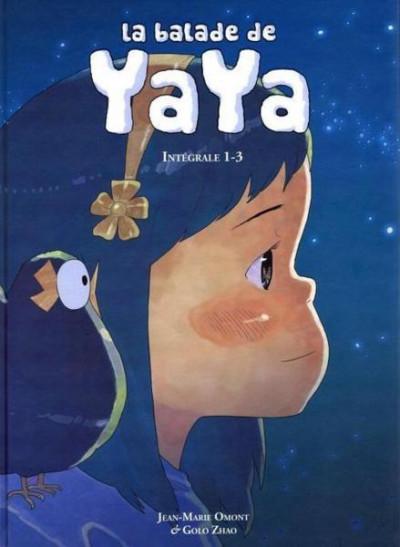 Couverture la balade de yaya - integrale tome 1 - tome 1 à tome 3